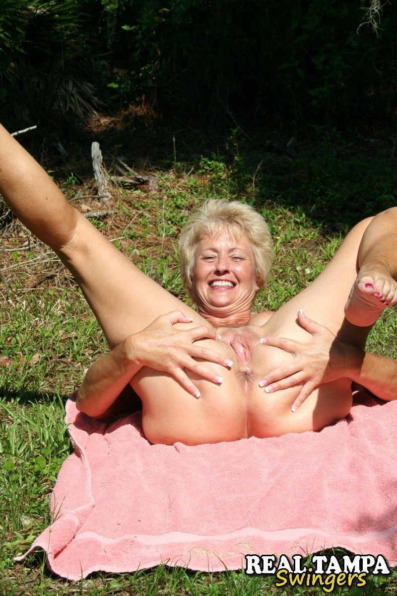 Busty mature feet #1
