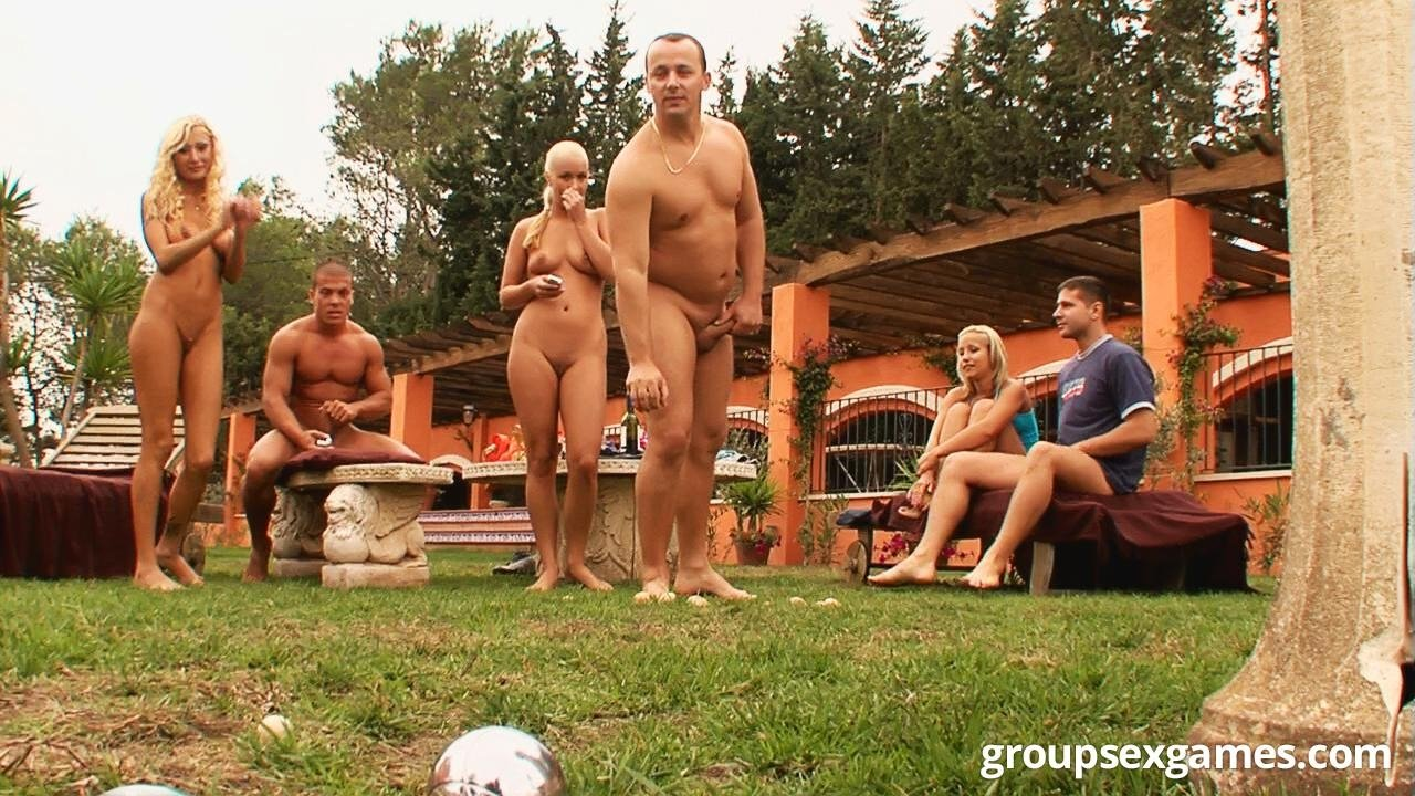 Surprise group sex #1