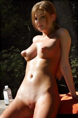 nudist Huge puffy nipples