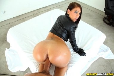 big ass black latex - She finally admits that she used to do porn and that's where he saw her  before. She asks him to keep her naughty sec... big butt black ...