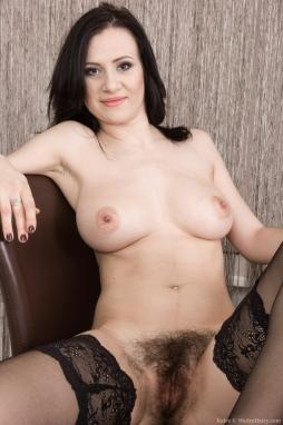 Big tits hairy pussy eight ball