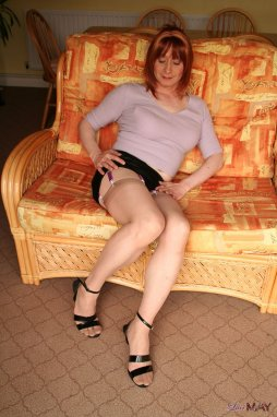 Cross dresser guy male man transvestite upskirt