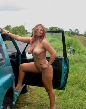 Big boob farmgirl nude outside