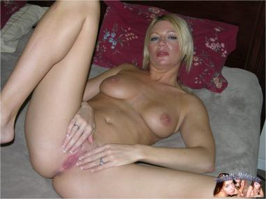Think, that amateur mature held open pussy