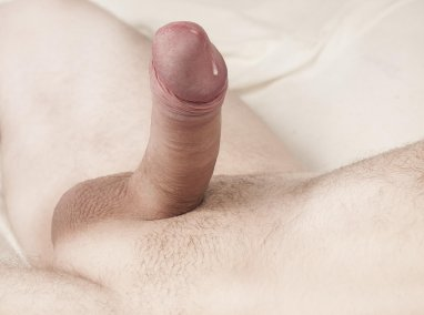 I lay back so he could shave my cock