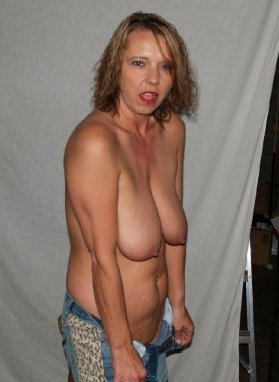 saggy wife tits amateur Real