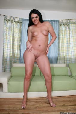 Hairy German Redhead Casting First Time
