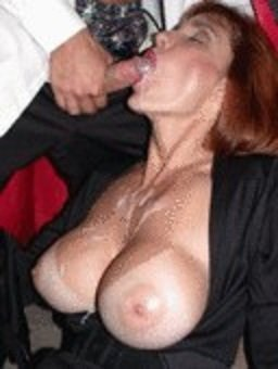 Mature cumloving whore