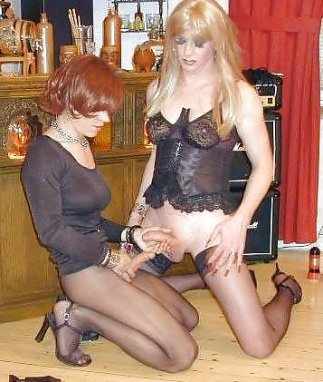 Transvestites in panties