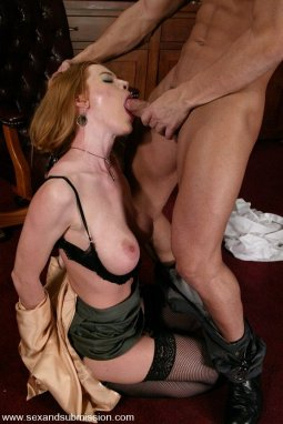 Latina Bombshell Vicki Chase Takes Big Cock From Ass to Mouth Mick Blue