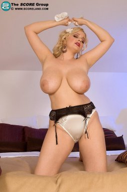Cute Blondie Tiffany Watson Get Hard Big Cock into Her Mouth And Gaping Butthole