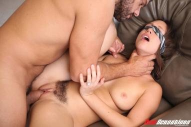 Blonde Latin shemale fucked in the ass