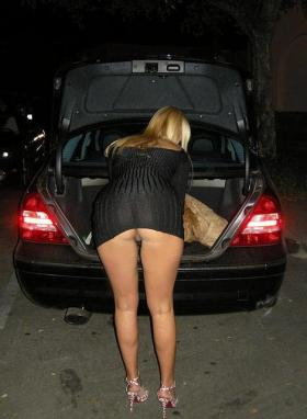 Wife car upskirt phrase